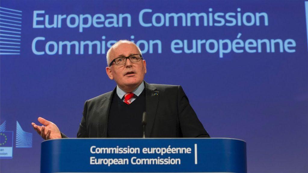 Timmermans at EC