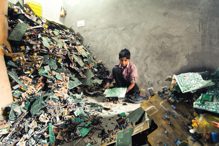 UK worst offender in Europe for electronic waste exports